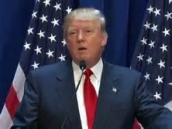 Donad Trump flub