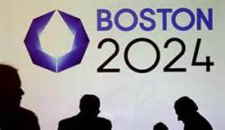 Boston 2024 Olympic logo